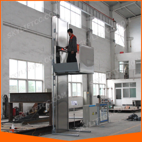 Hydraulic System for Vertical Wheelchair Lift