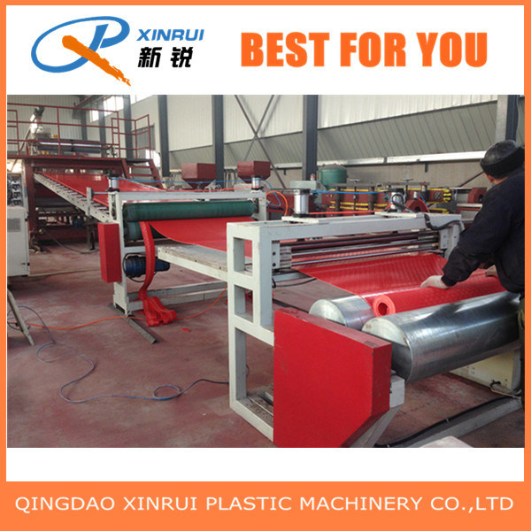 PVC Carpet Plastic Extruder Machine