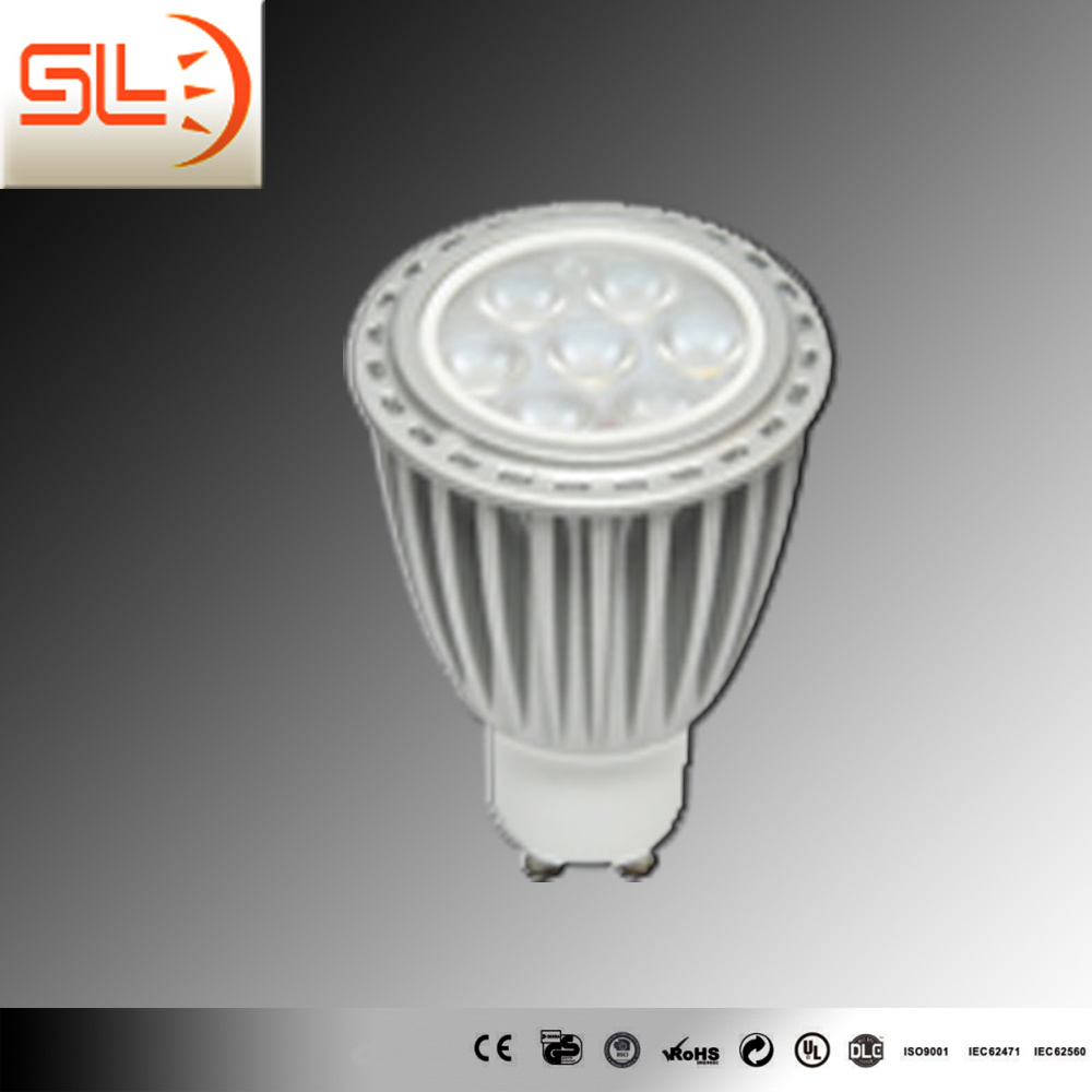7W GU10 LED Spotlight COB CE RoHS