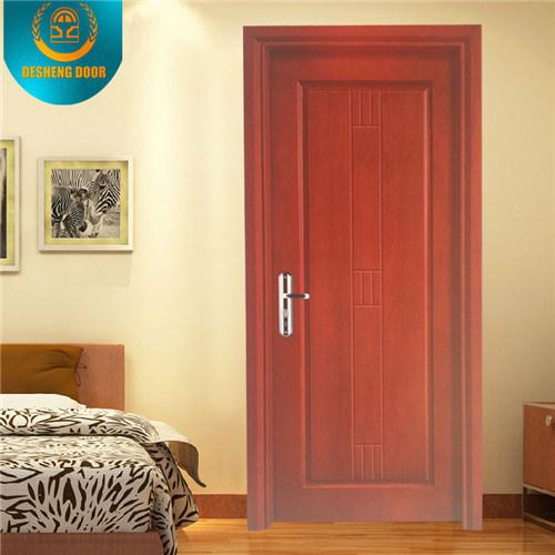 Modern Style Solid Wood Composite HDF Hotel Door Apartment Door School Door (DS-024)