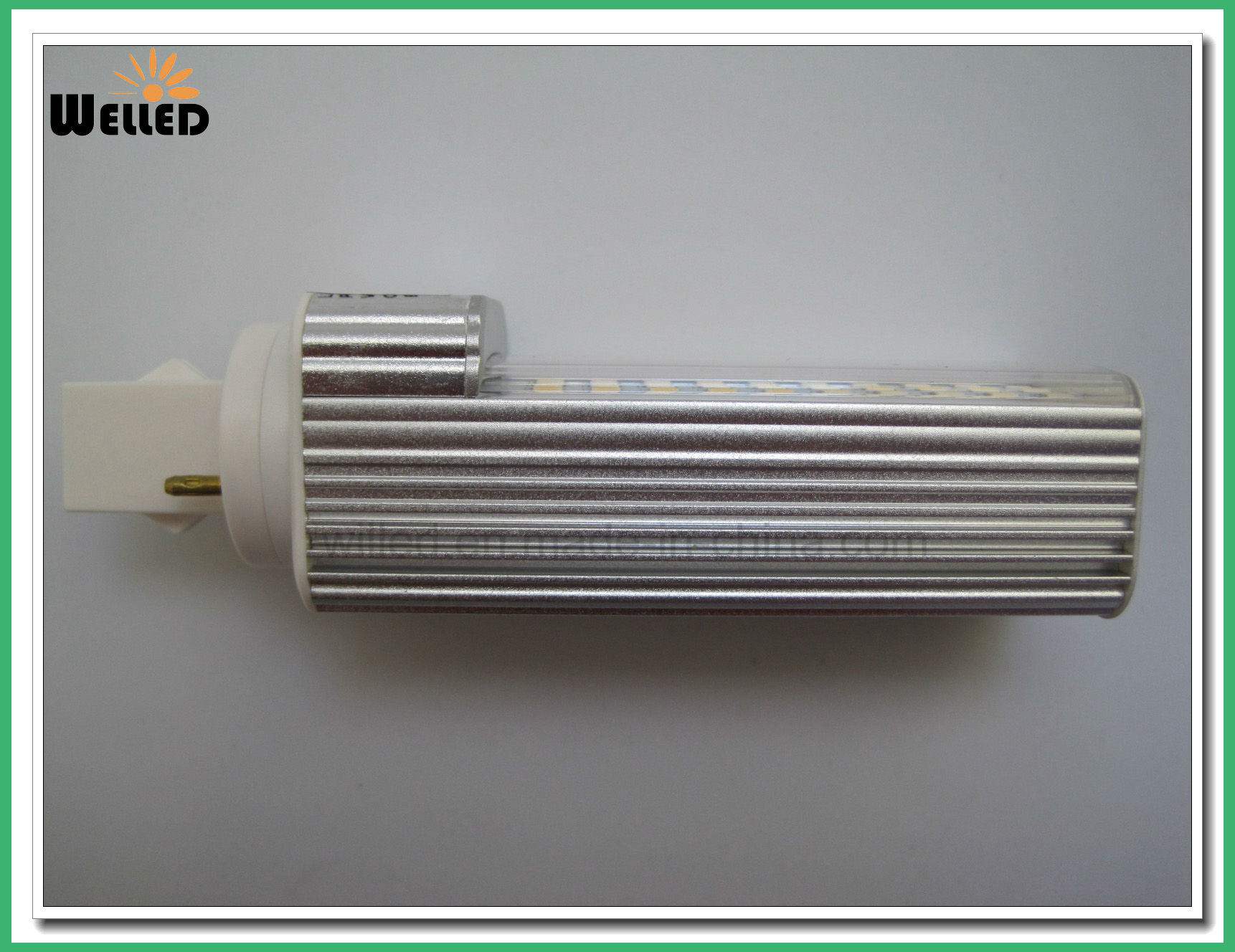 6W LED PLC Bulb Light G24 with Rotatable Base