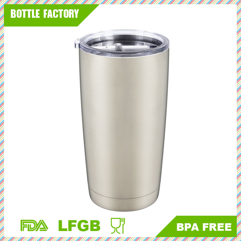 Stainless Steel Tumbler, Double Wall Vacuum Insulated Anti-Splash Lid