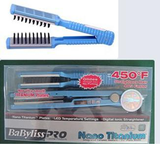Hair Comb Set (hair iron+comb)