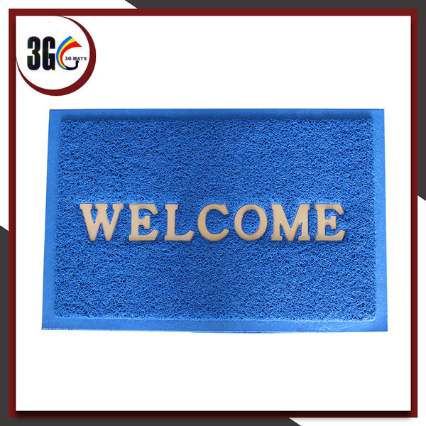 Anti Slip Pvccushion Doormat with Cheap Price and High quality