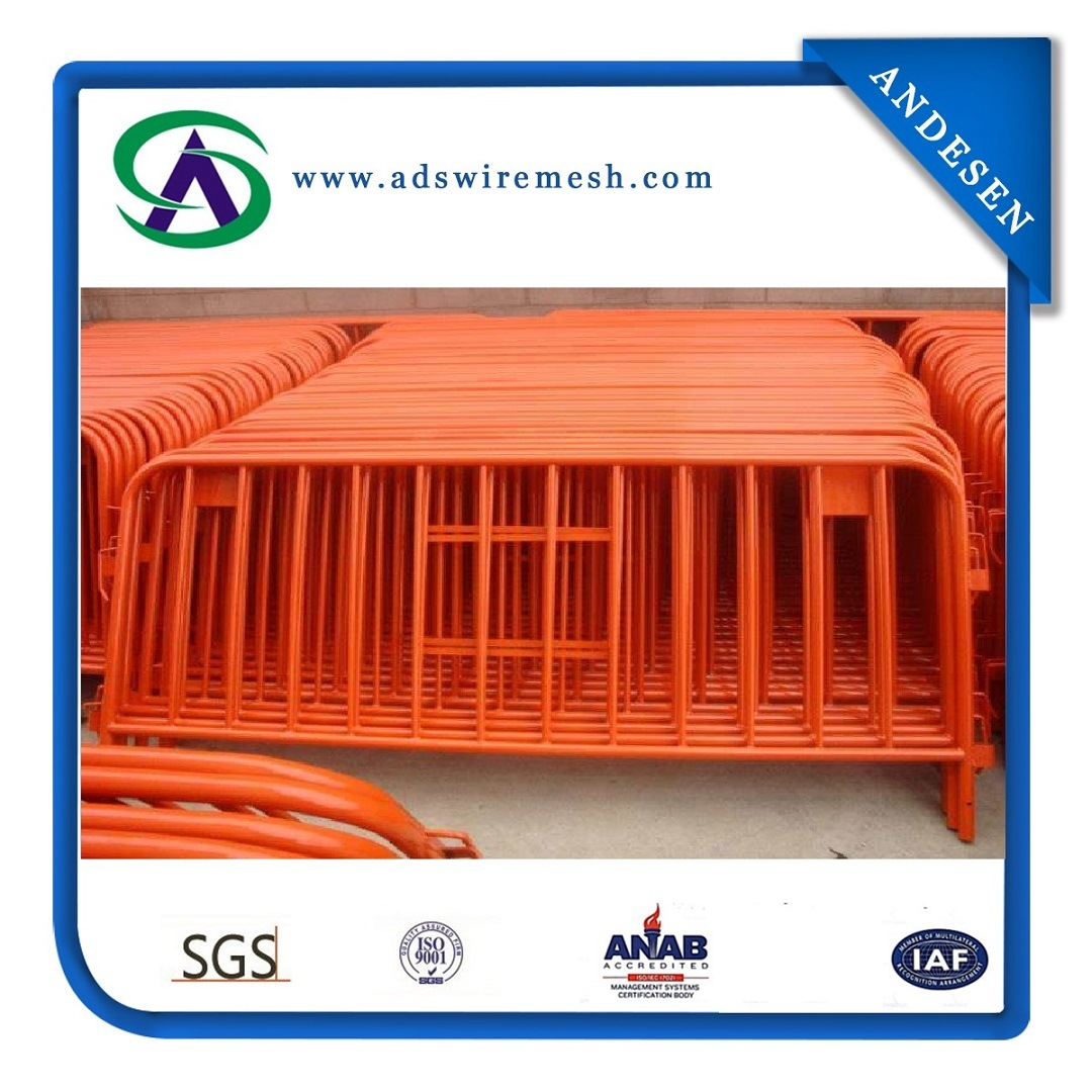 Pedestrian Barrier/Crowd Control Fence (ISO9001: 2008)