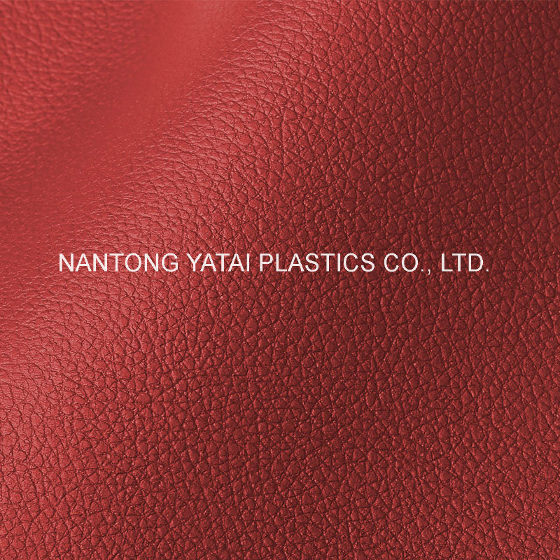 Embossed Faux PU PVC Leather for Auto Seat and Furnitures