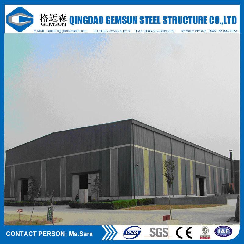 Ce Certification Prefabricated Steel Building Steel Workshop Fabrications