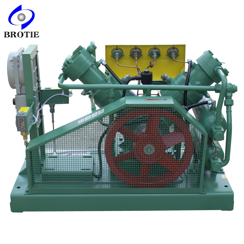Brotie Totally Oil-Free Hydrogen Gas Compressor Booster