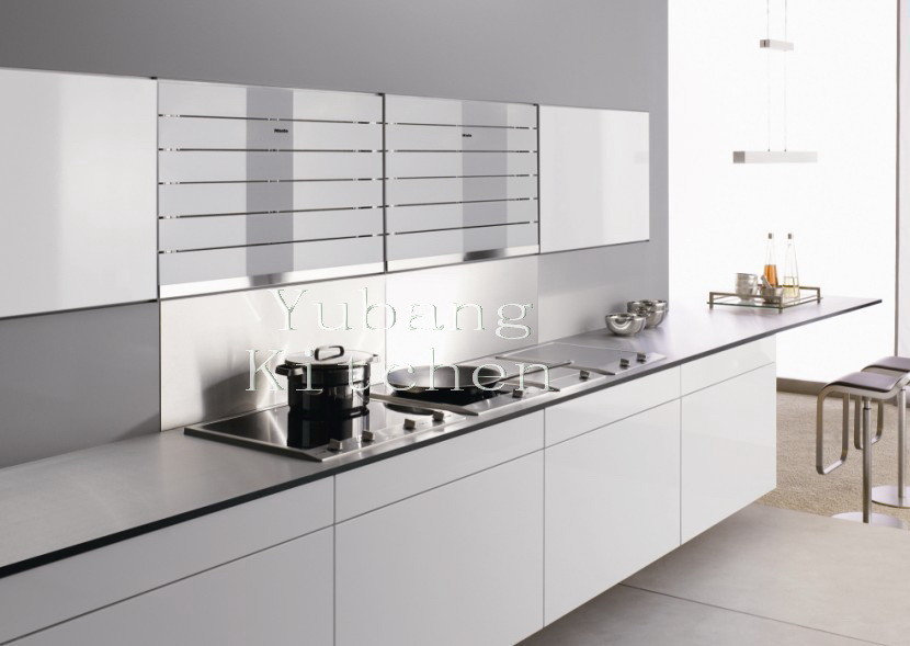China white 2pac kitchen cabinet m l58 white lacquer for 2 pac kitchen cabinets