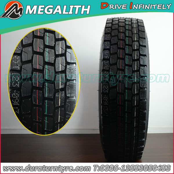 China Origin High Quality Llantas Truck Tire (315/80R22.5) (12R22.5)