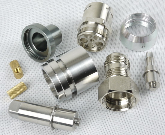 Aluminum Anodised Parts CNC Machining for Auto, Electronic, Mechanical Industry