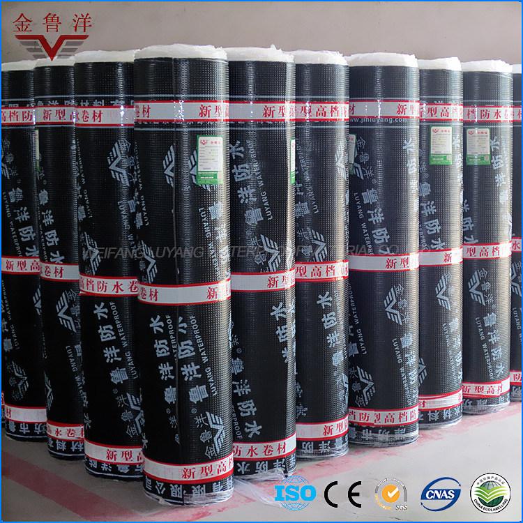Sbs Modified Bitumen Waterproof Membrane, Self Adhesive Building Material