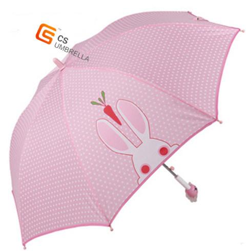 Plastic Cute Handle Outdoor Child Umbrella (YS-SK001A)