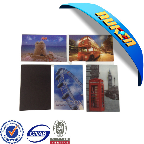 New Design Lenticular 3D Fridge Magnet for Promotion Items