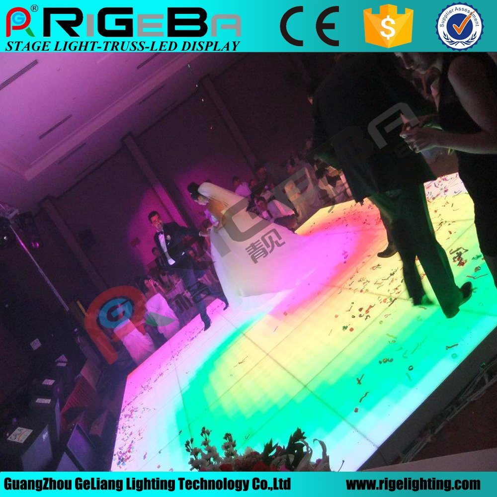 Professional LED Stage Digital Dance Floor Light