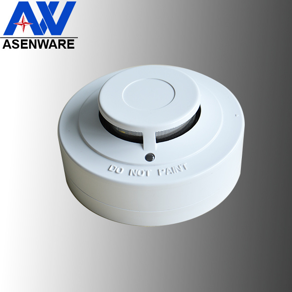 Asenware High Quality Photoelectric Conventional Electric Wired Smoke Detector
