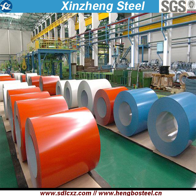 (0.13mm-1.3mm) PPGI Steel Coil/Color Coated Steel Coils/Galvanized Steel