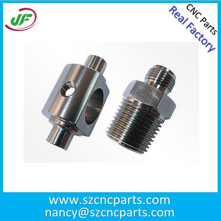 OEM Precision CNC Lathe Machine Parts / Precision Aluminum CNC Car Parts