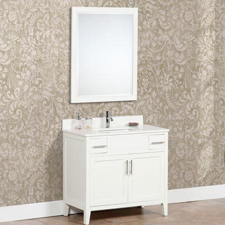 china 36 white painting single sink wood bathroom cabinets ml 8513