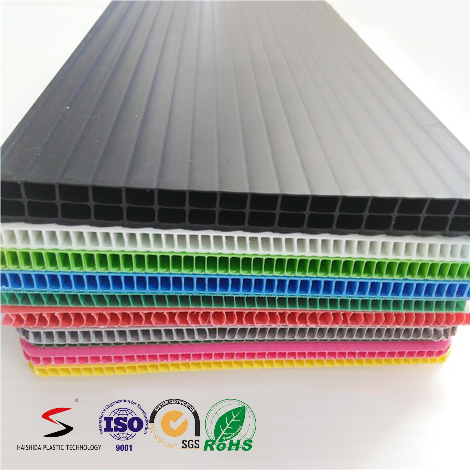 Corrugated Plastic Sheet PP Hollow Board