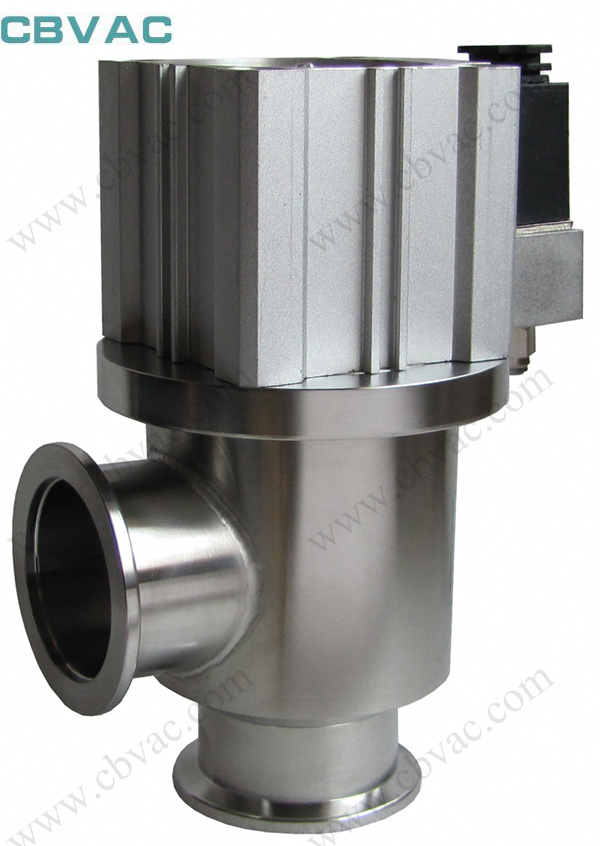 Angle Valve with CF Flange Stainless Vacuum Angle Gate