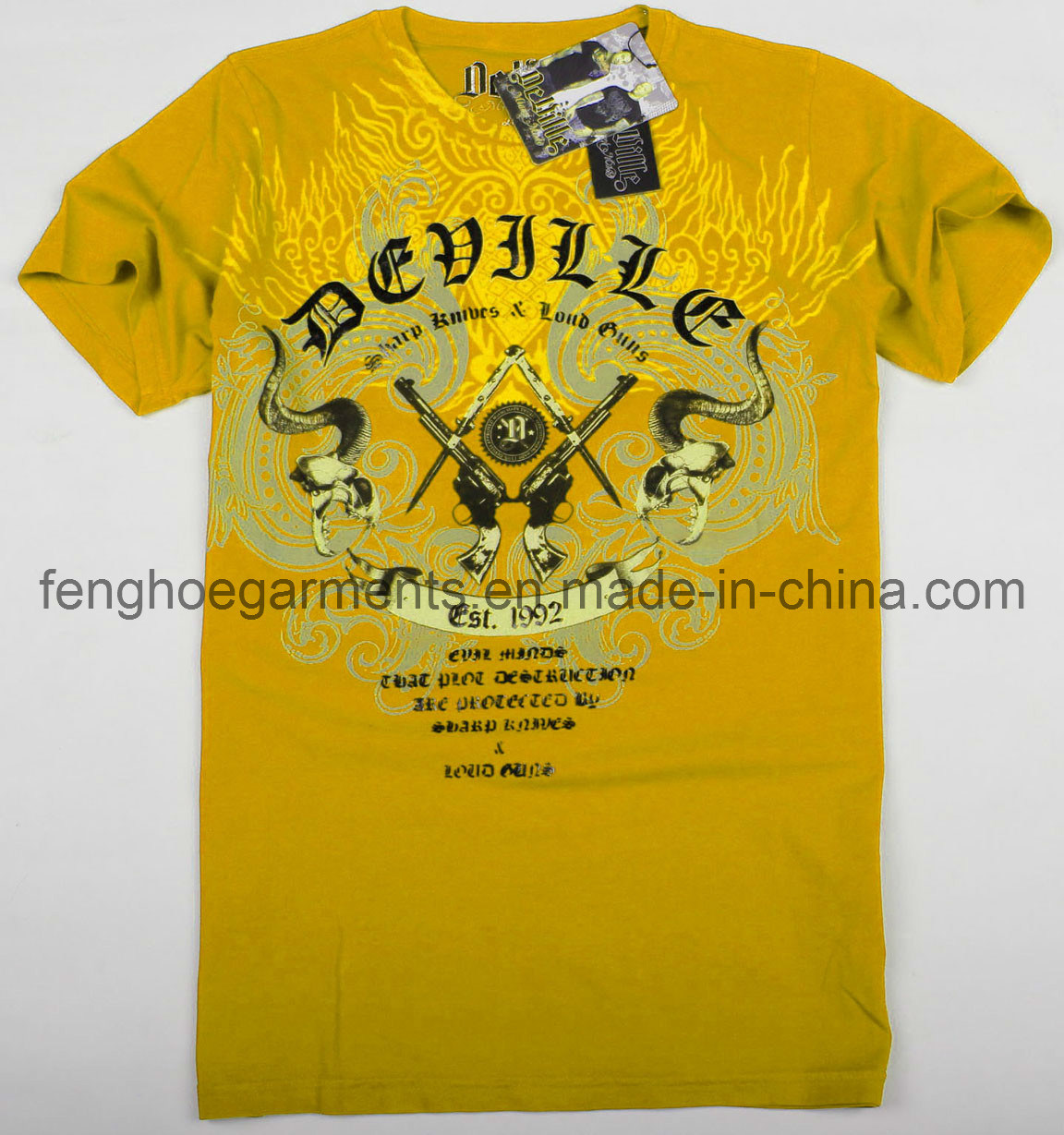 Setbackgunm promotional t shirt printing china T shirt printing china