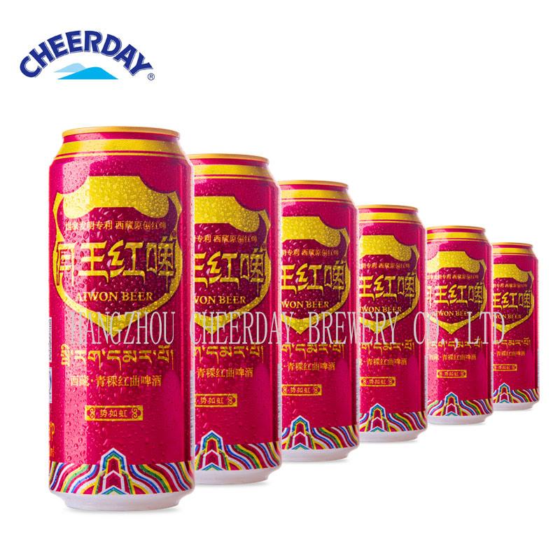OEM Brewery 500ml 4.5%Vol Red Canned Beer