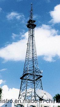 Telecom Tower Self Support 3 Legs Platfrom, Ladders Lightning Rod