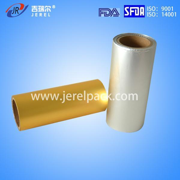 Printed and Coated Aluminum Foil for Blister Packaging with U. S. FDA
