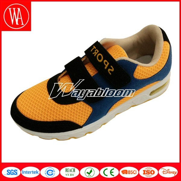 Summer Breathable Children Magic Tape Sports Shoes