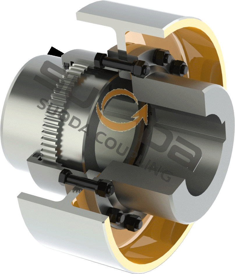 GA Series Gear Coupling for Transmission Sysytem