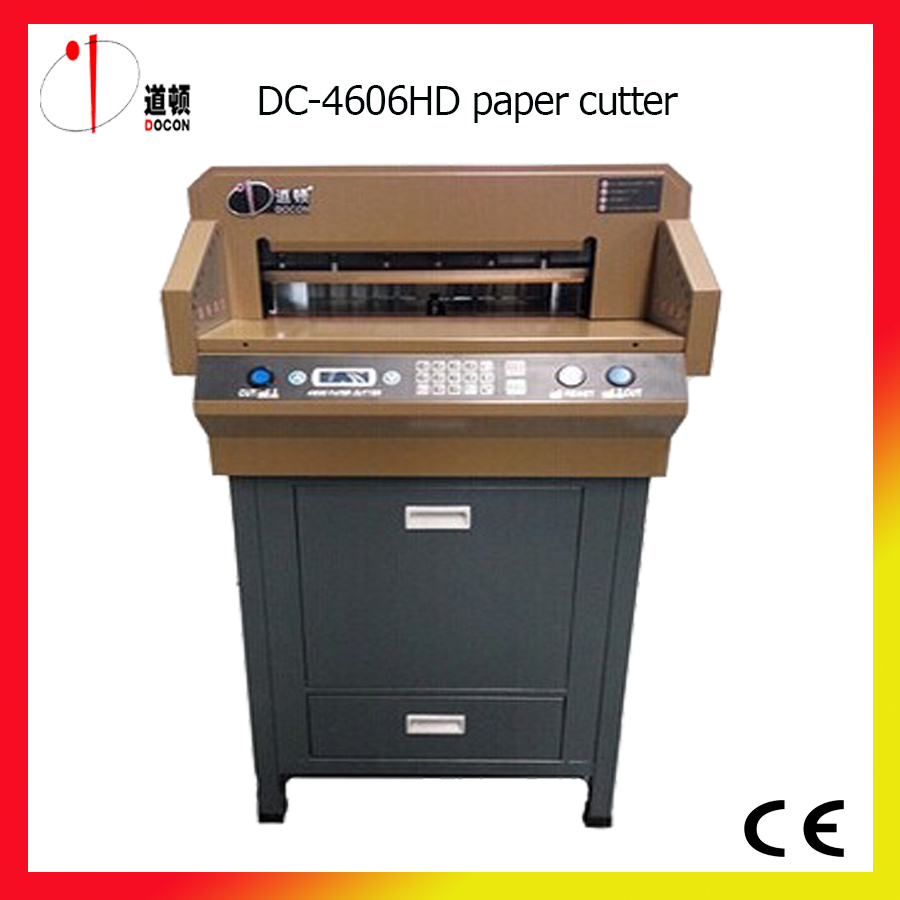 DC-4606HD Electric Paper Cutter Machine