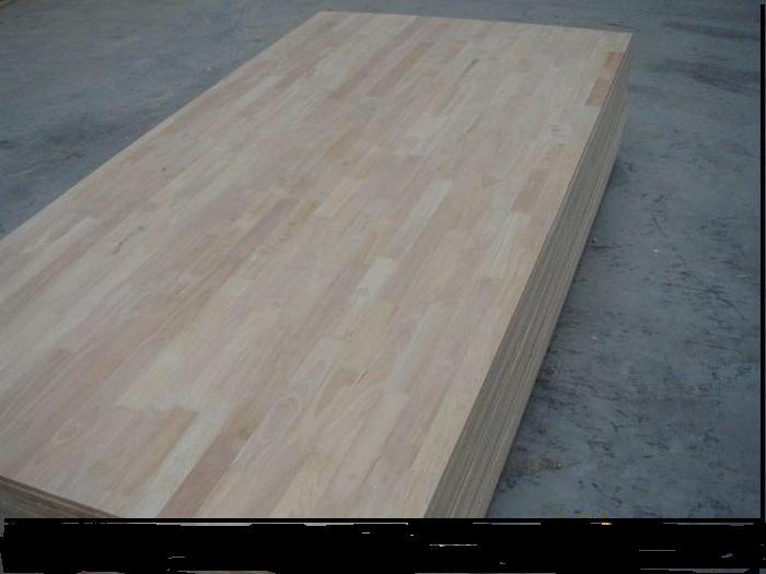 4* 8 Ft 9- 40mm 100%Thailand Rubber Wood Finger Joint Board