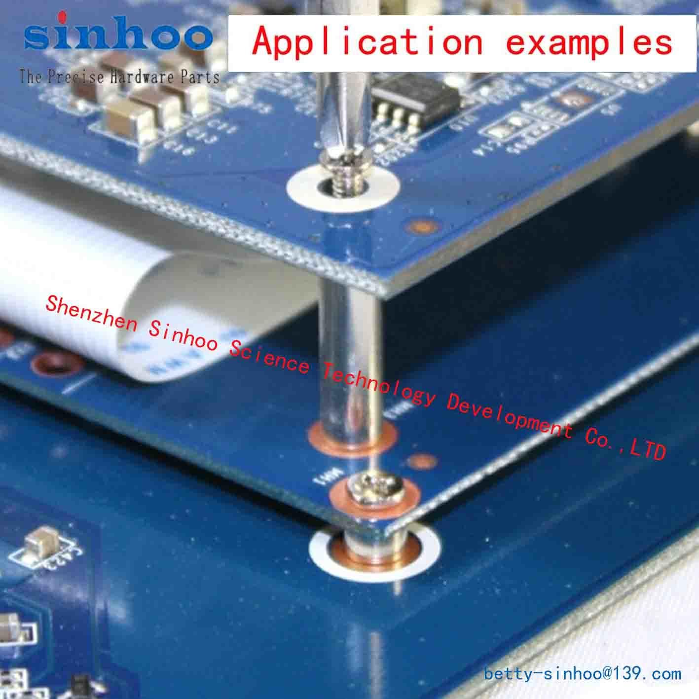 Smtso-M2-8et, SMD Nut, Surface Mount Fasteners SMT Standoff, SMT Spacer, Bulk Stock