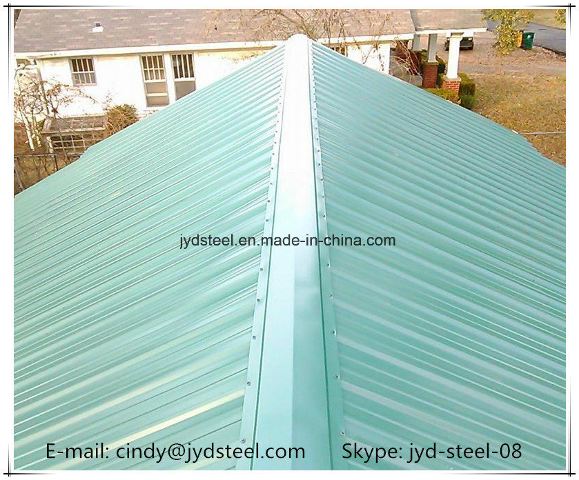 Galvanized Steel Ridge Capping for Roofing