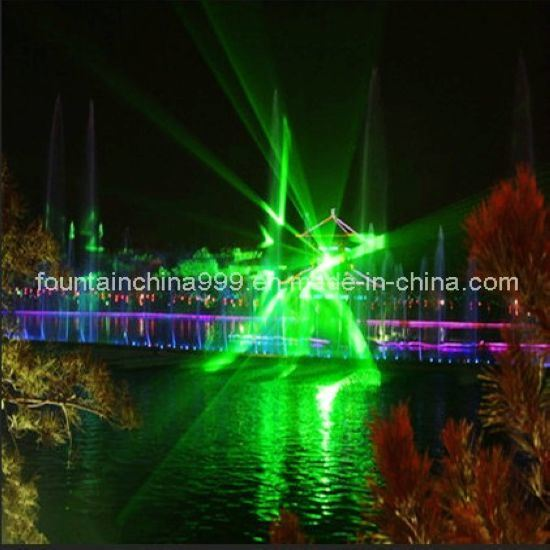 Economic Music Dancing Water Fountain with Laser Perform in Lake (DF-6)