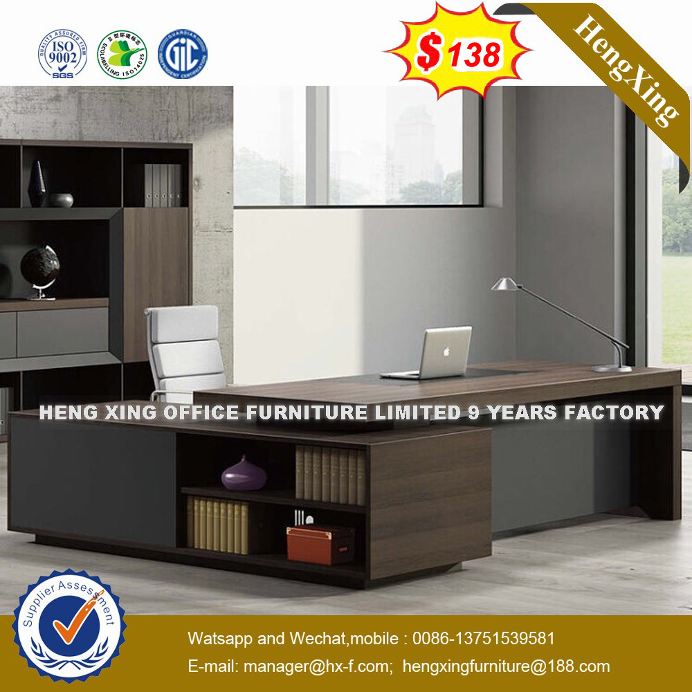 MDF Office Furniture Desk Wooden Executive Office Table (HX-8N0806)