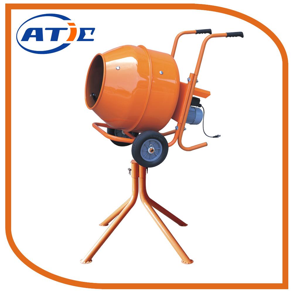 Horizontal Portable Concrete Mixer with Stander