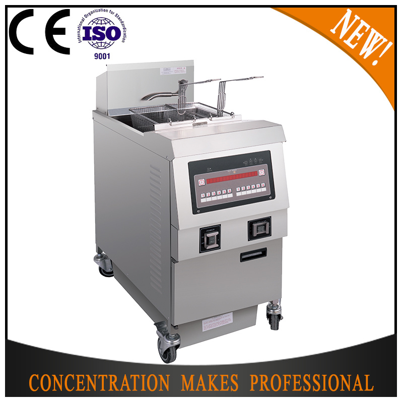 Ofg-321 Fast Food Open Deep Automatic Used Fryer Filter Machine