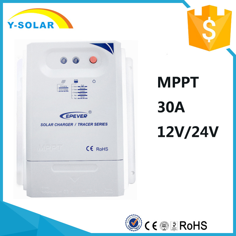 Epever MPPT 30A 12V/24V Solar Panel Regulator 3210cn