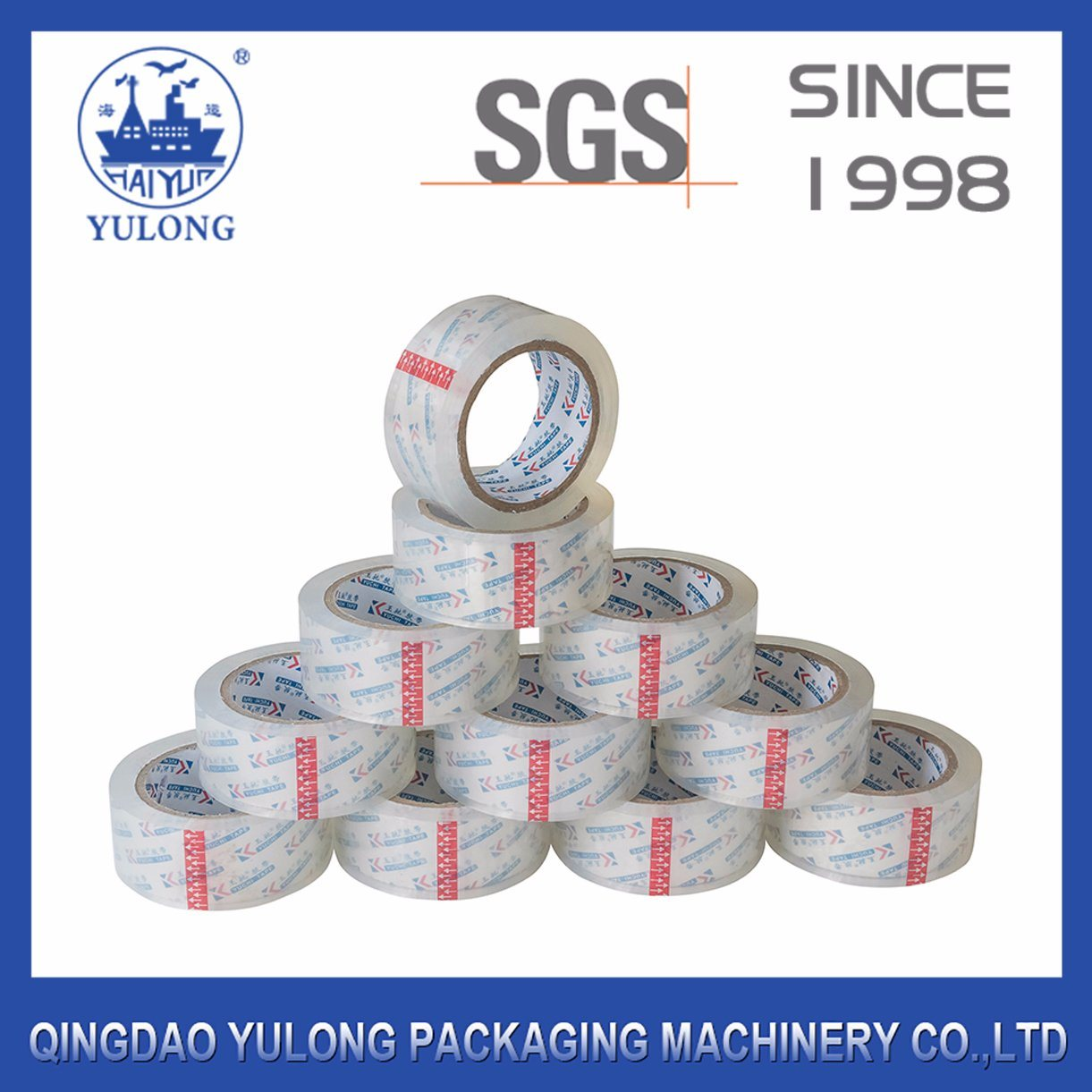 Super Clear BOPP Adhesive Packing Tape for Carton Sealing