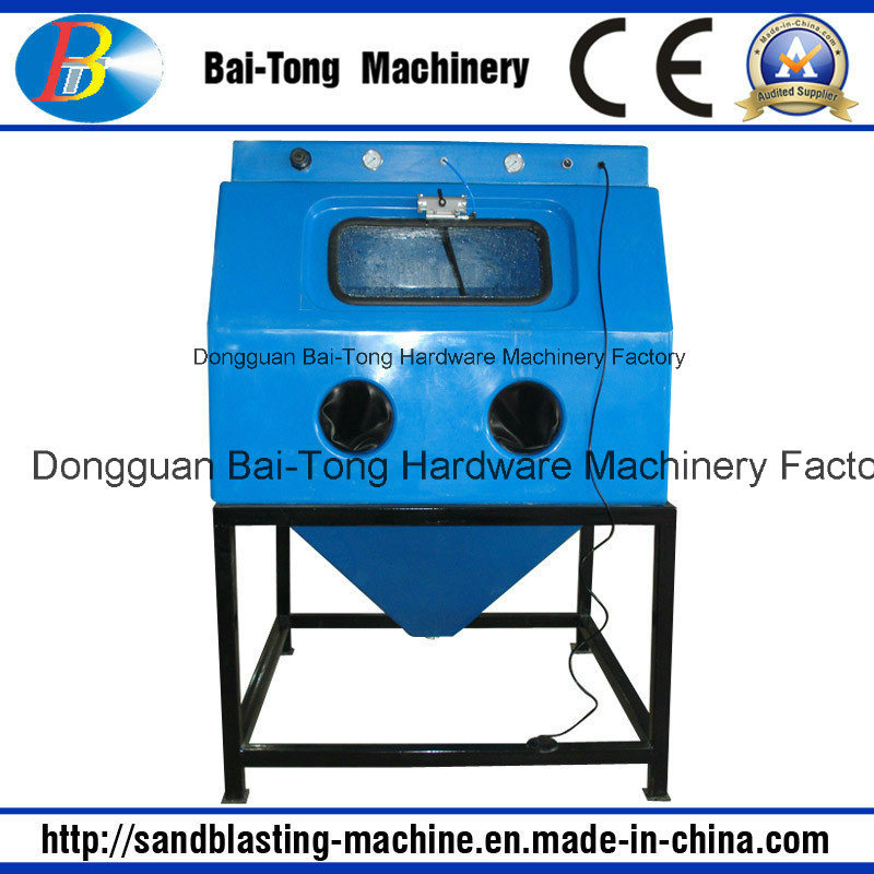Manual Wet Sandblast Cabinet for Jewelry