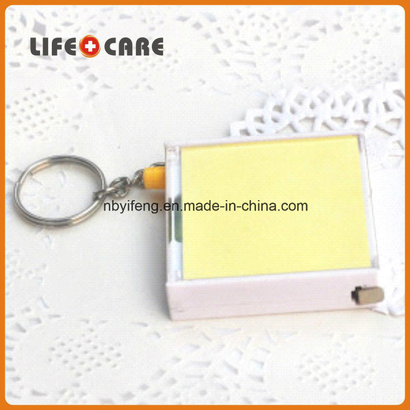 Promotion Mini Tape Measure with Note
