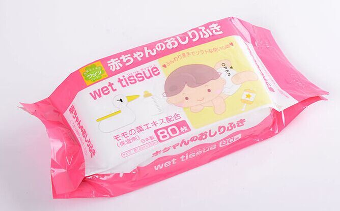 OEM 80 CT Baby Hand and Mouth Wet Wipes