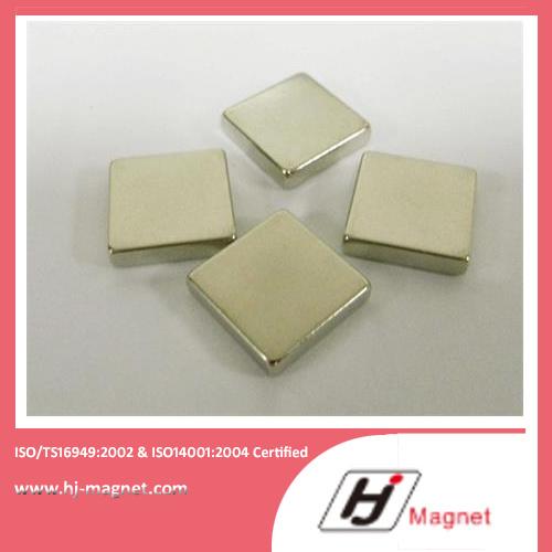 China Manufacture High Quality Zinc NdFeB Block Magnet