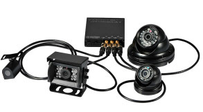 Live 4CH 8 Channel 3G 4G Vehicle CCTV System