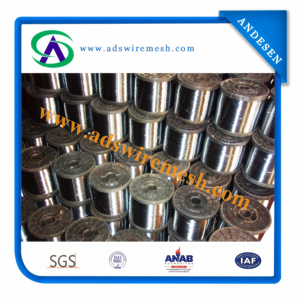 0.13mm Stainless Steel Wire 430 for Making Scourer