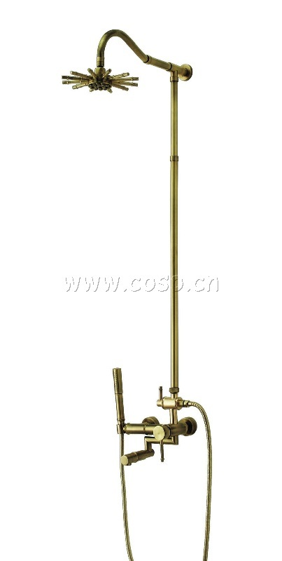 Brass Shower Set Shower Unit Cj6232/028/8950