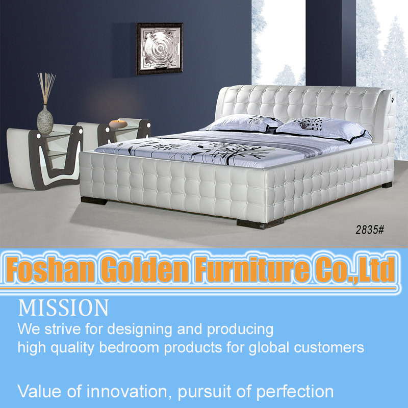 China Latest Design Double Bed Design Furniture China