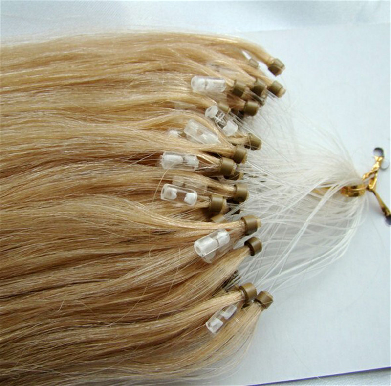Brazilian Loop Micro Ring Hair Remy Human Hair Extension
